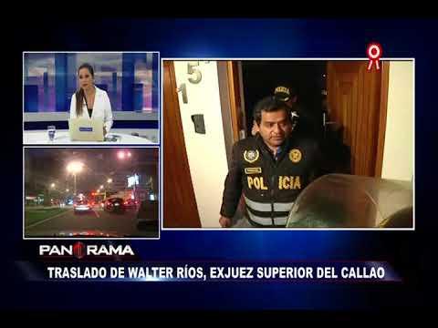 Walter Ríos fue trasladado a la carceleta de la Fiscalía