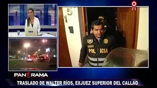 Baixar Walter Ríos fue trasladado a la carceleta de la Fiscalía