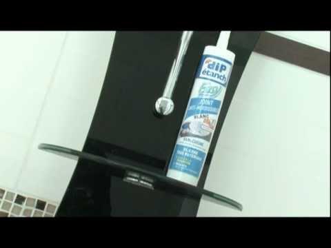 quel mastic pour sa salle de bain mastic silicone joint anti moisissures youtube. Black Bedroom Furniture Sets. Home Design Ideas