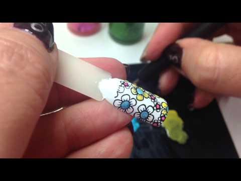 Nail Art Led Lighting Technique