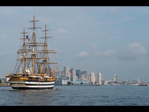 Marina Militare - Nave Amerigo Vespucci a Boston