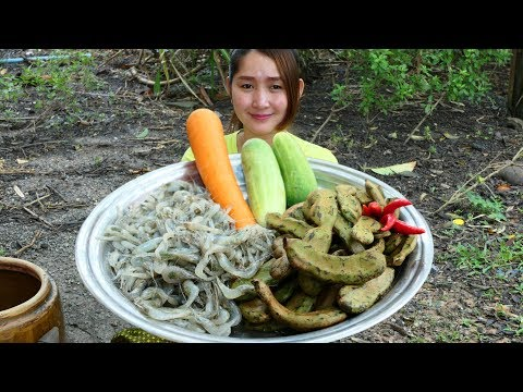 Yummy River Shrimp Pounded Young Tamarind Recipe – Yummy River Shrimp Pounding – Cooking With Sros