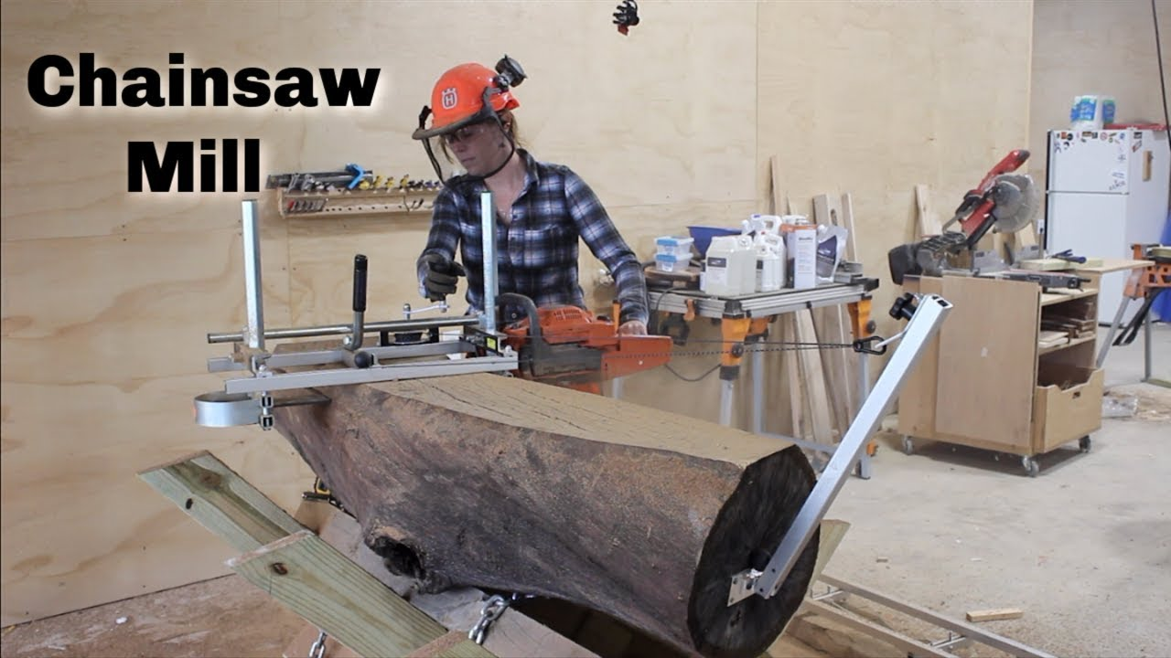 Chainsaw Mill: How to Slab Logs - Wilker Do's