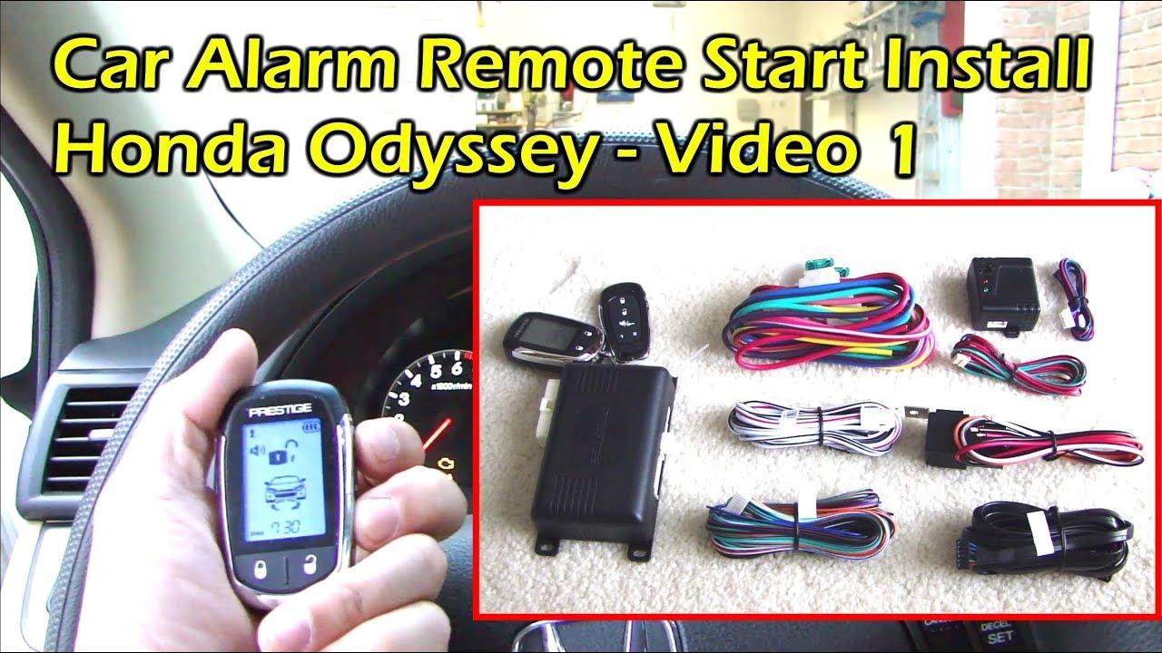 car alarm remote start installation wiring diagram cd for 2002 ford escape radio install wire preparation honda