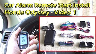 how to install car remote start wire preparation video 1