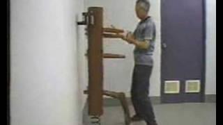 Wing Chun - Tsui Sheung Tin (chu Shong Tin) Wooden Dummy Form