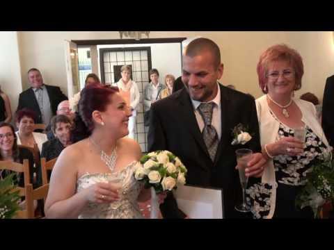 Kardos Edina és Boros György esküvője - Bóka Videó