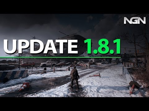 Update 1.8.1    The Division