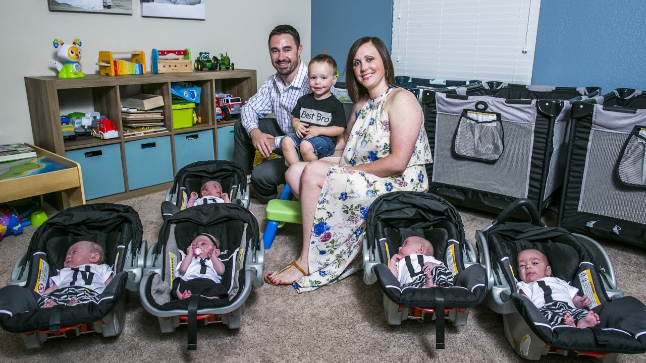 After A Long Stay In The Nicu Meet The Hodges Quintuplets