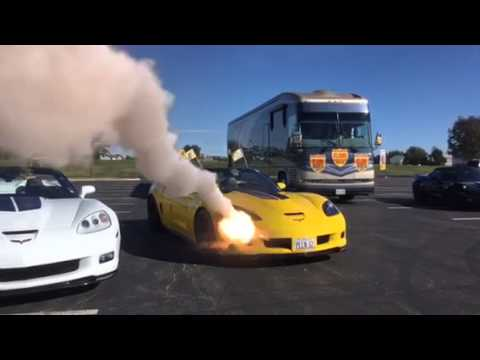 Bumblebee Car Gets Hit By Missile Youtube