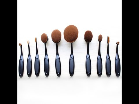 oval makeup brushes and their uses. oval makeup brush set brushes and their uses
