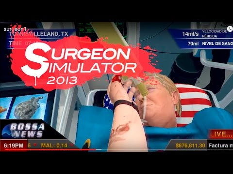 #1 OPERANDO A DONALD TRUMP D: D:   SURGEON SIMULATOR