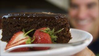 Chocolate Almond Meringue Cake: Flourless Gluten-free treat  Totally Sacha