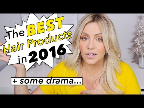 The Best Hair Products in 2016 + Some Drama..