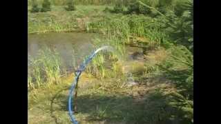 Dopełnianie stawu ze studni głębinowej