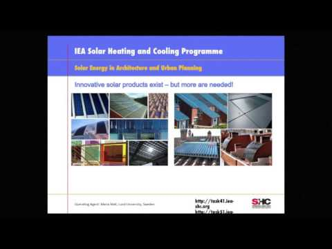 8. Solar Energy in Architecture and Urban Planning