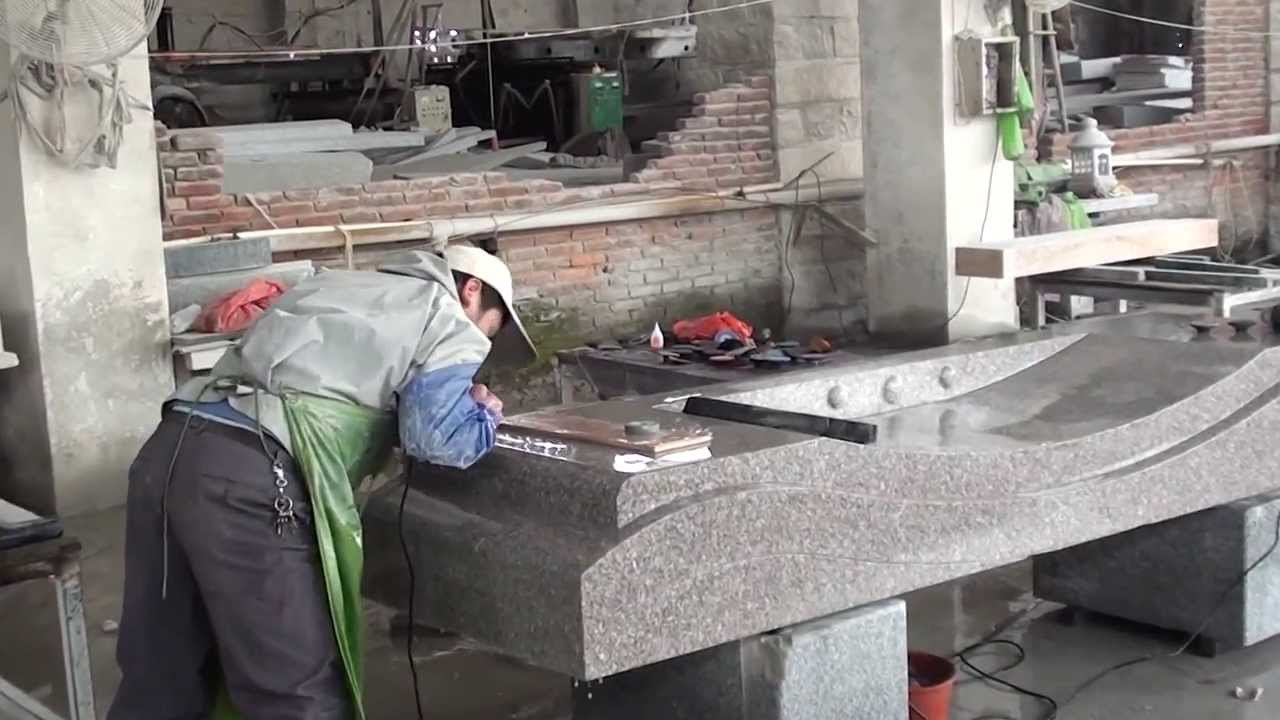 Granite Manufacturing In China 3 2011 Youtube