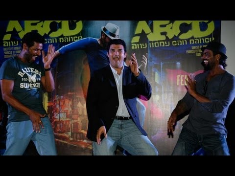 Prabhu Deva, Remo D'Souza, Dharmesh And Salman At 'ABCD First Look Launch