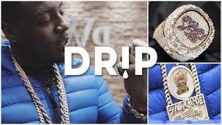 Mist's New Iced Out Championship Ring - #Drip Ep.7 | Link Up TV mp3
