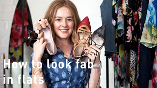 How to look good in flat shoes - How to look fab in flats