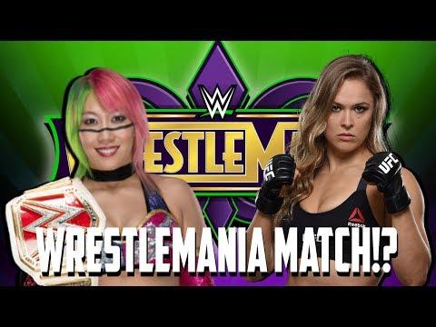 Ronda Rousey VS. Asuka At Wrestlemania 34!?