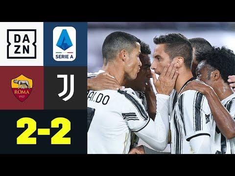 Ronaldo Doppelpack rettet Juve-Punkt! AS Rom - Juventus 2:2   Serie A   DAZN