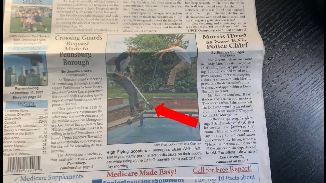 I Was In The Newspaper!