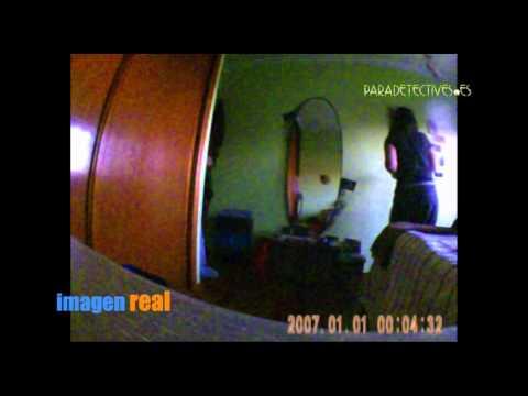 Mini Cámara Espía Oculta En Reloj Espejo SEM MR-01