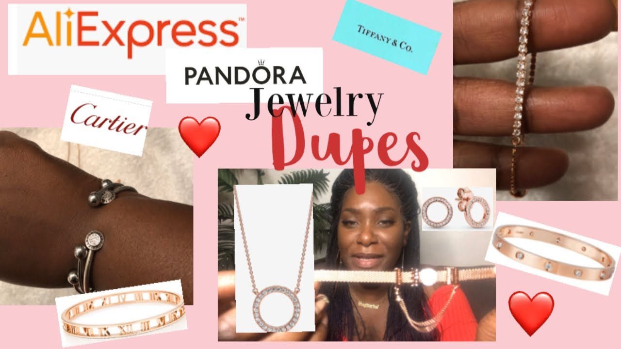 Aliexpress Jewelry Haul{Pandora Dupe/Replica Accessories Review}❤️Valentine's Day Gift Ideas❤️