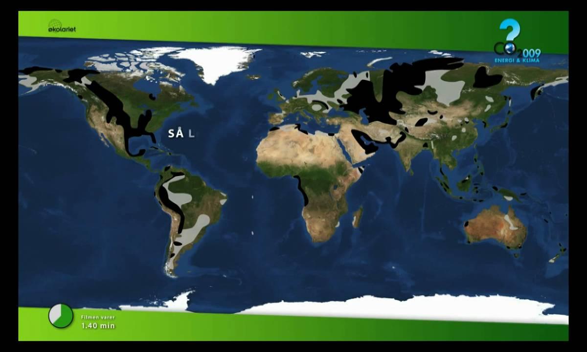 Verdens reserver af olie og gas