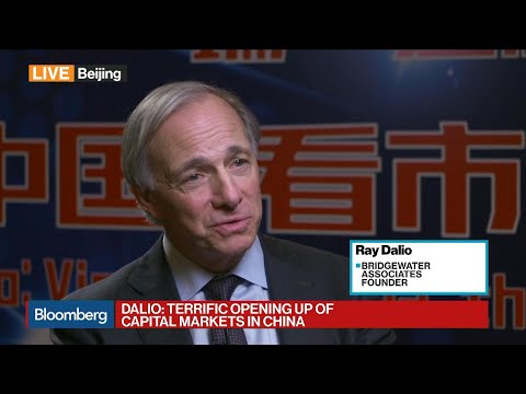 Ray Dalio Is 'Excited by Opening Up of China Capital Markets'