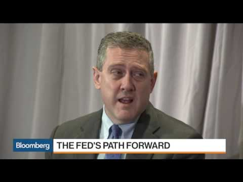 Fed's Bullard Says U.S Economy In A Slow-Growth Mode - 31 Ma