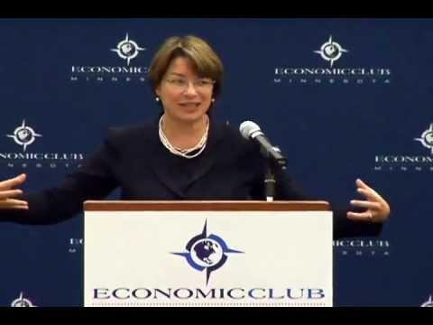 U.S. Senator Amy Klobuchar