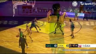 #LNB - Gimnasia 82-88 Obras Basket (20/1/2021)