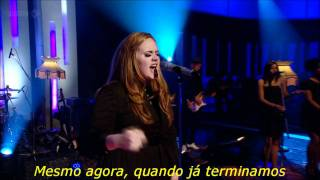 Adele - Set Fire To The Rain (Legendado) (Live on Jools Holland)