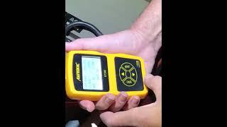 men at work   testing the batteries