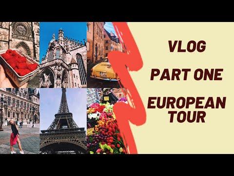 VLOG | PART ONE | Тур по Европе | Польша | Германия | Амстердам | Франция | Незабываемое путешествие