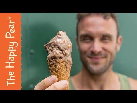 The BEST Vegan Ice Cream | Chocolate Hazelnut Cereal Milk