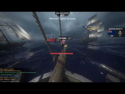 Blackwake: Crewing under Twin - Doing all the work