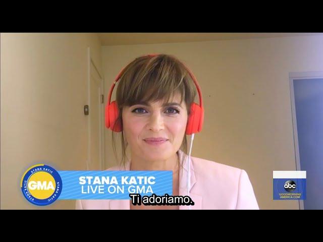 SUB ITA: GMA - Stana Katic parla della nuova stagione di