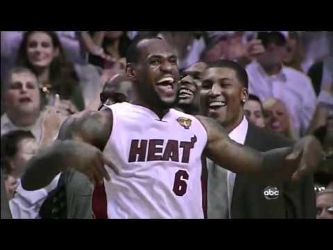 c72579c0f48 MVP LeBron James 2012 NBA Championship Victory Dance - YouTube