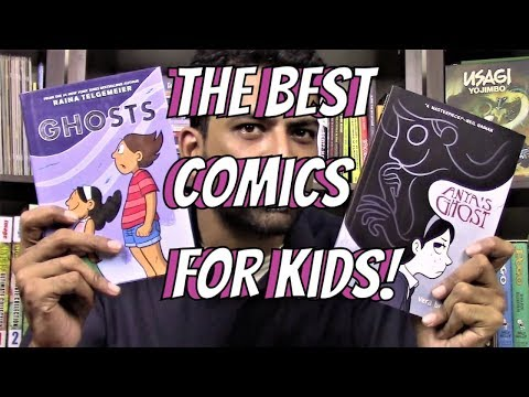 The Five Best Comics for Young Readers