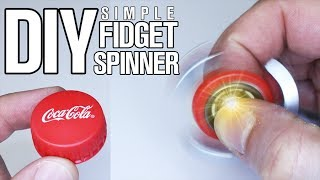 3 Simple Parts DIY Fidget Spinner