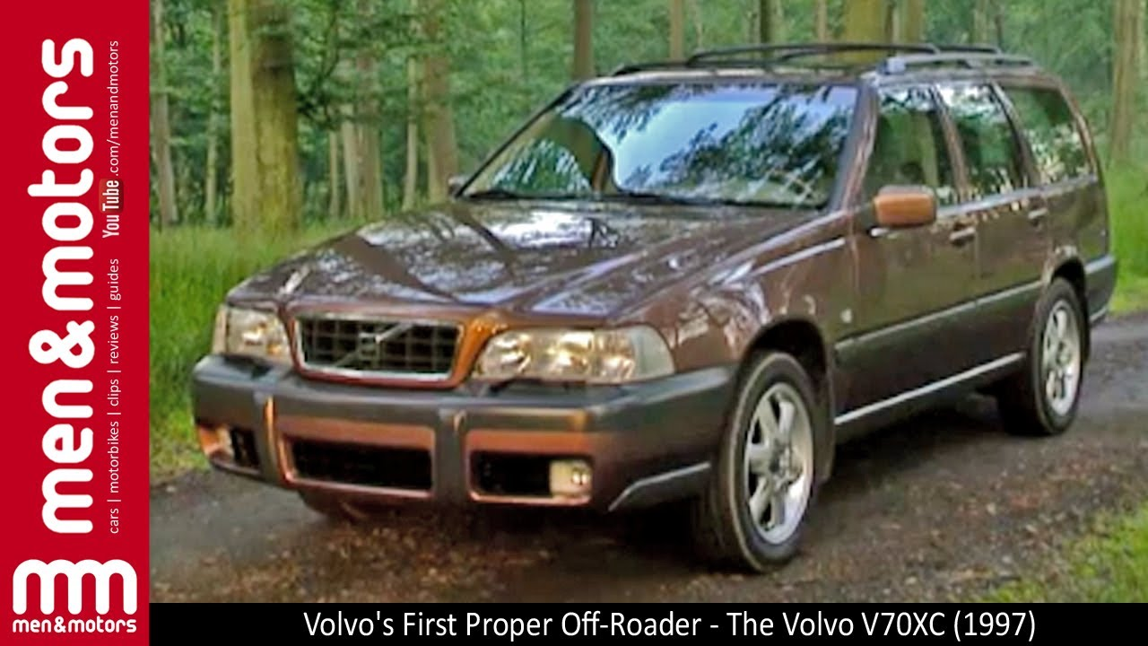 Volvo's First Proper Off-Roader - The Volvo V70XC (1997 ...