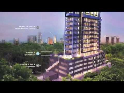 Forte Suites Singapore Freehold Condo Showflat Floor Plan Youtube