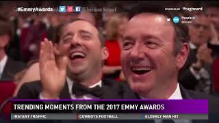 Tending moments from the 2017 Emmy Awards