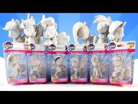WizKids My Little Pony Deep Cuts Unpainted Miniatures Custom Pony