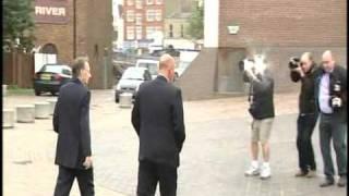 Photographer Falling Over On BBC News [Chris Langham]