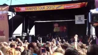 Dear Maria, Count Me In - All Time Low LIVE Warped Tour 2012