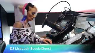 dj lisa lush phever recording april 2016